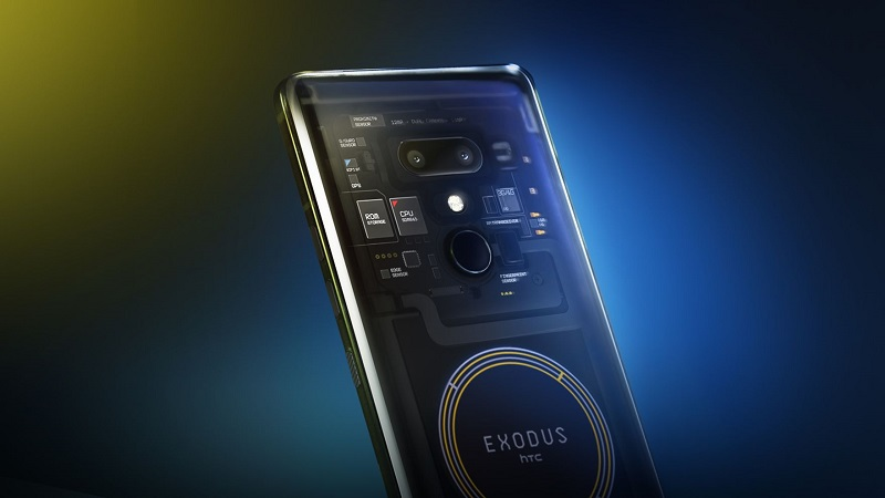 Crypto-Friendly HTC Exodus 1 Specs Revealed, Now Available for Pre-Order