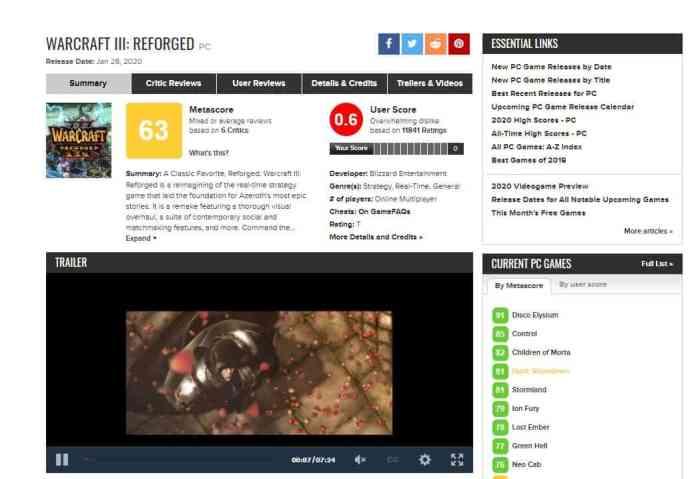 warcraft-3-reforged-metacritic-user-score