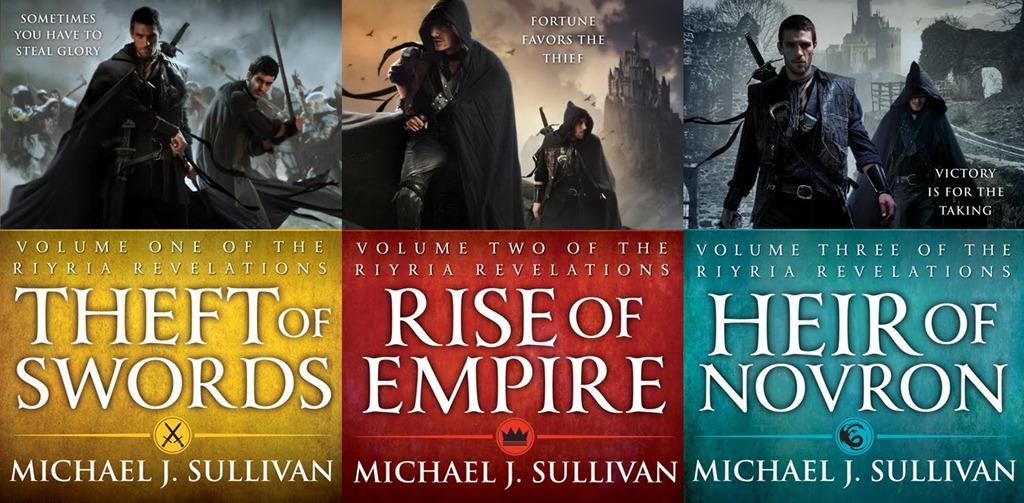 Image result for michael j sullivan books