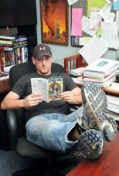 Chizmar in his office. What a great job.