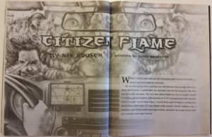 "Cover art for ""Citizen Flame"""