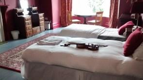 bedroom at Kilcreggan house