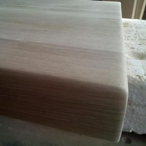 blatul gros din stejar, pregatit pentru vopsire