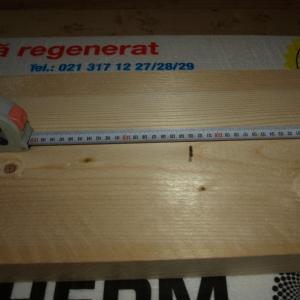masurarea si taierea unui dulap din lemn uscat de brad