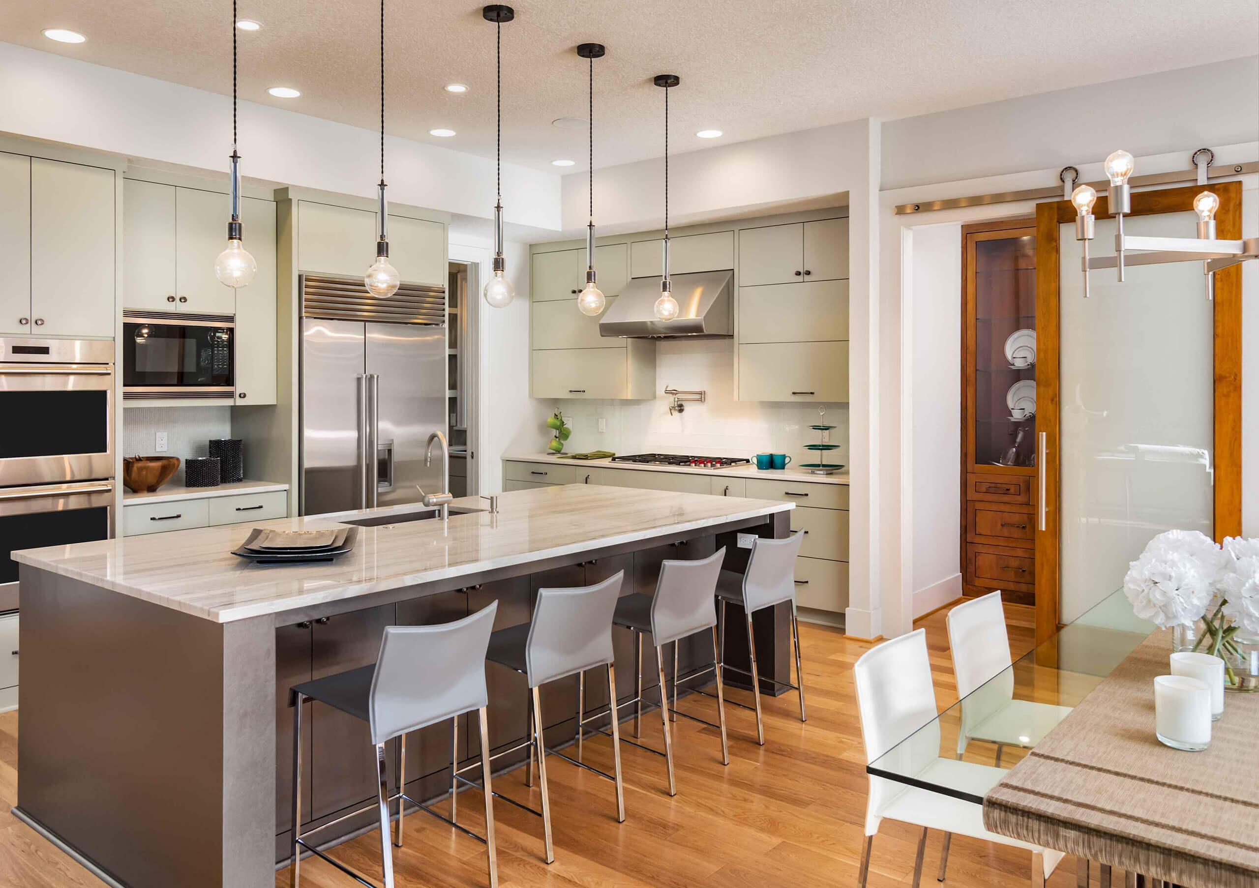 kitchen remodeling contractor los angeles : countertops, cabinets, floor
