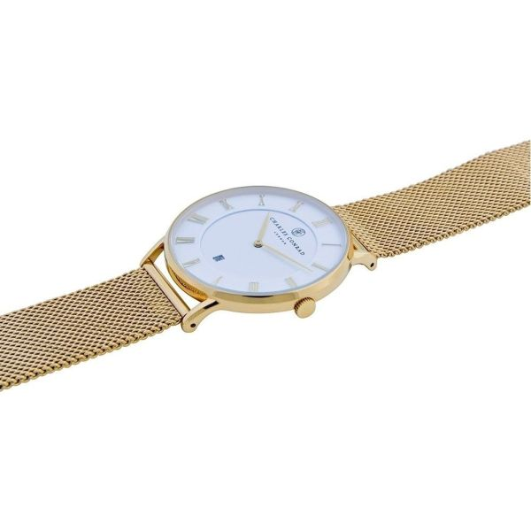 Charles Conrad CC02009 Watch - Gold Plated Fashionable Ladies' Watch 5