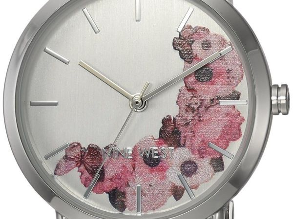 Nine West Womens Watch NW/2043SVSB
