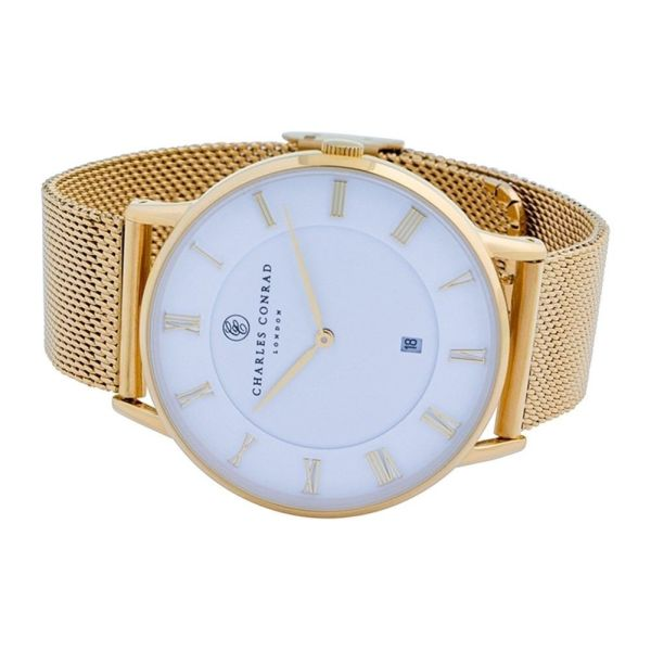 Charles Conrad CC02009 Watch - Gold Plated Fashionable Ladies' Watch 3