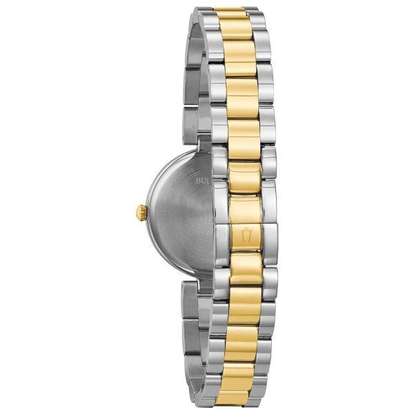 Bulova Ladies Designer Watch Stainless Steel Bracelet - 98L226 1