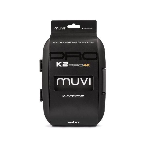Veho VCC-007-K2PRO Muvi K-Series K-2 Pro 4k 1080p HD WiFi sport camera 12MP  5