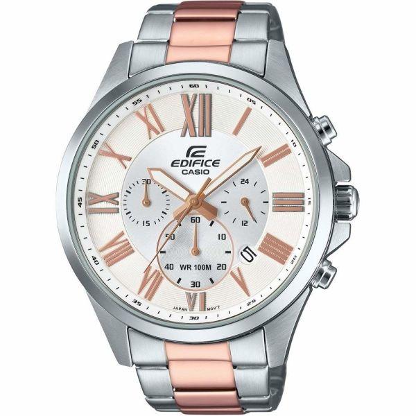 Mens CASIO Edifice Retrograde Chrono Chronograph Watch EFV-500SG-7AVUEF