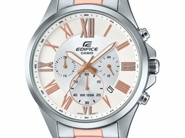 Mens CASIO Edifice Retrograde Chrono Chronograph Watch EFV-500SG-7AVUEF