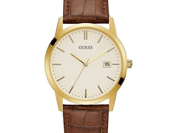 Guess Mens Camden Dress Date Gold W0998G3