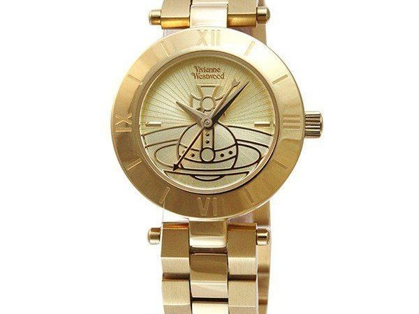 Vivienne Westwood Womens Quartz Watch with Stainless Steel Strap VV092CPGD