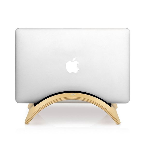 Twelve South BookArc mod for MacBook, birch | Modern wood desktop stand for MacB 1