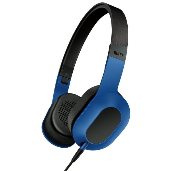 KEF M400 Over-Ear Hi-Fi Headphones - Racing Blue