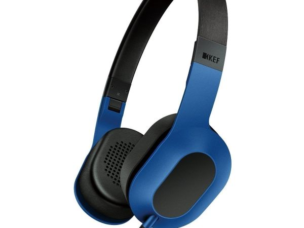 KEF M400 Over-Ear Hi-Fi Headphones - Racing Blue