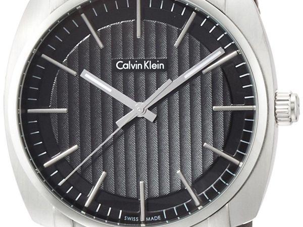 Calvin Klein Men's Analogue Quartz Watch with Rubber Strap K5M311C1
