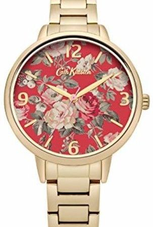Cath Kidston CKL001GM Ladies Garden Rose Gold Plated Bracelet Watch
