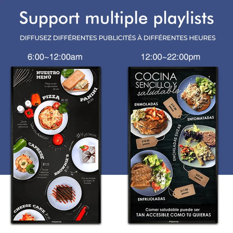 Support multiple