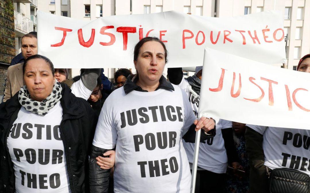 Les lycéens demandent justice et vérité pour Théo!