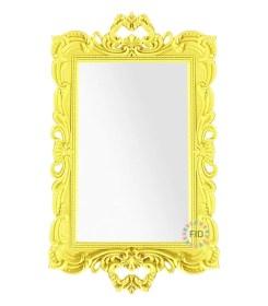Bandeja Rectangular Amarillo con Espejo