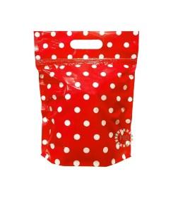 Bolsa con Cierre Hermético Rojo