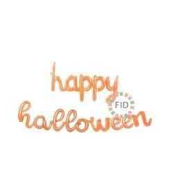 Globo Happy Halloween Cursiva