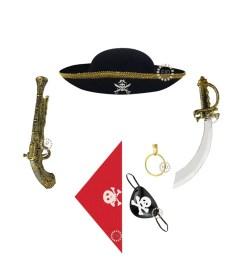Set Completo de Pirata