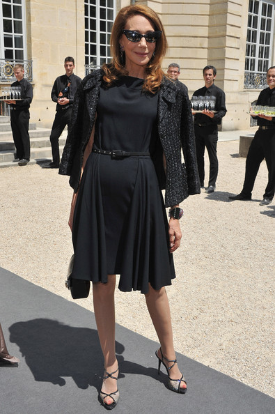 Christian Dior Front Row Paris