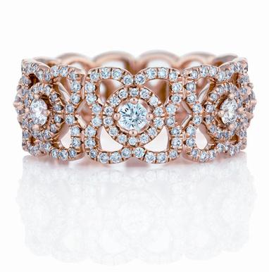 anillo loto De Beers