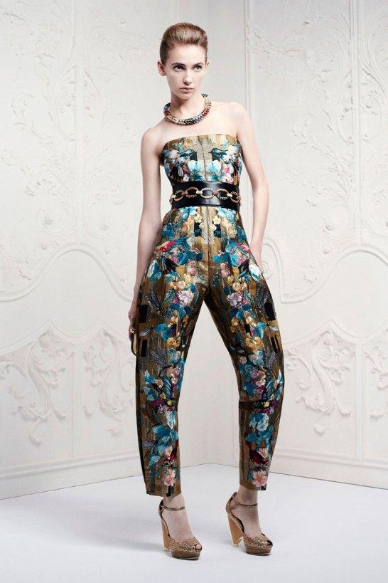 McQueen Pre Collection SS 2013