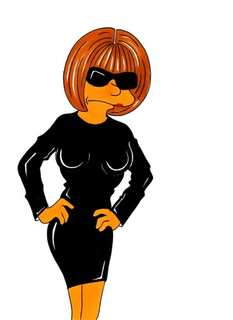 Anna-Wintour-Marge-Simpson-