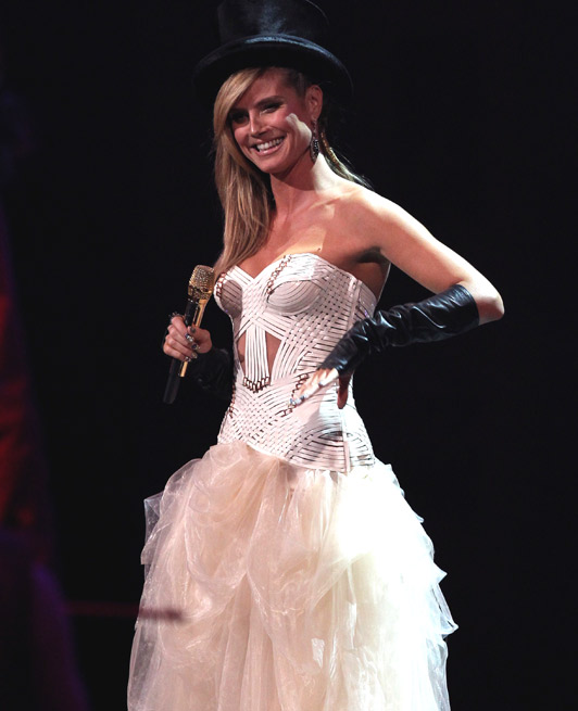 Heidi Klum, MTV Music Awards.