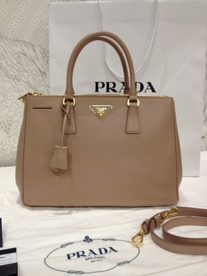 Prada Saffiano leather Lux tote