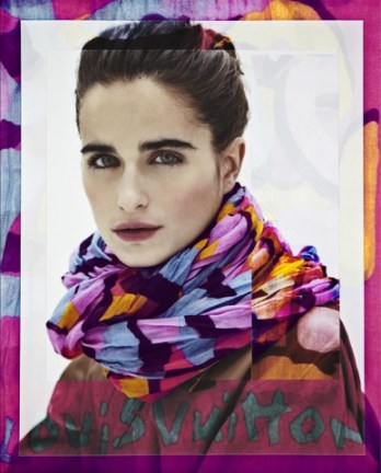 SS 2013 Louis Vuitton Scarves