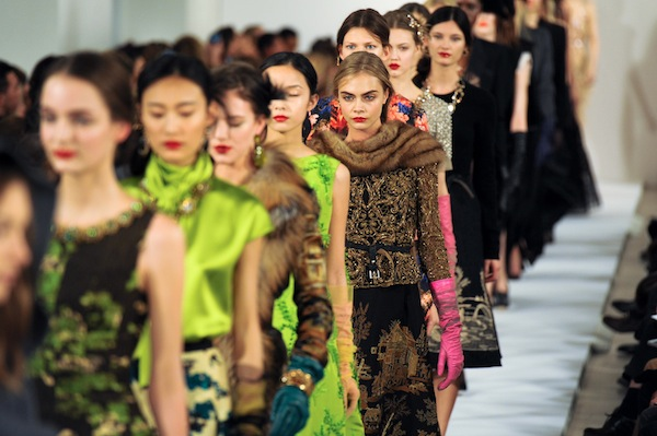 Oscar de la Renta, Autum Winter 2013