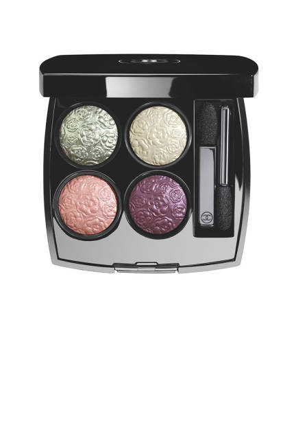 Chanel Ombres Fleuries Quadra Eye Shadow
