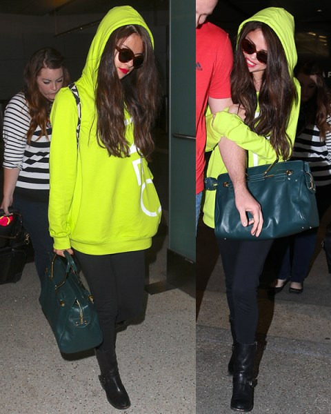 Selena Gomez with Bombette bag