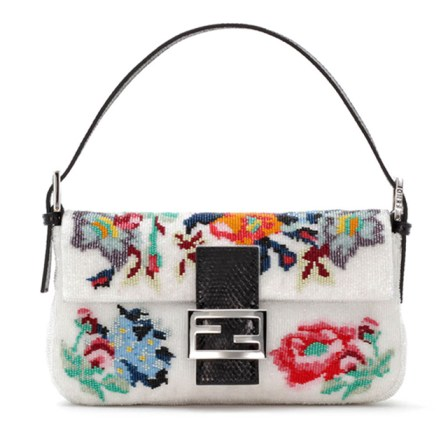 Fendi-Baguette-Floral-Needlepoint-Bag