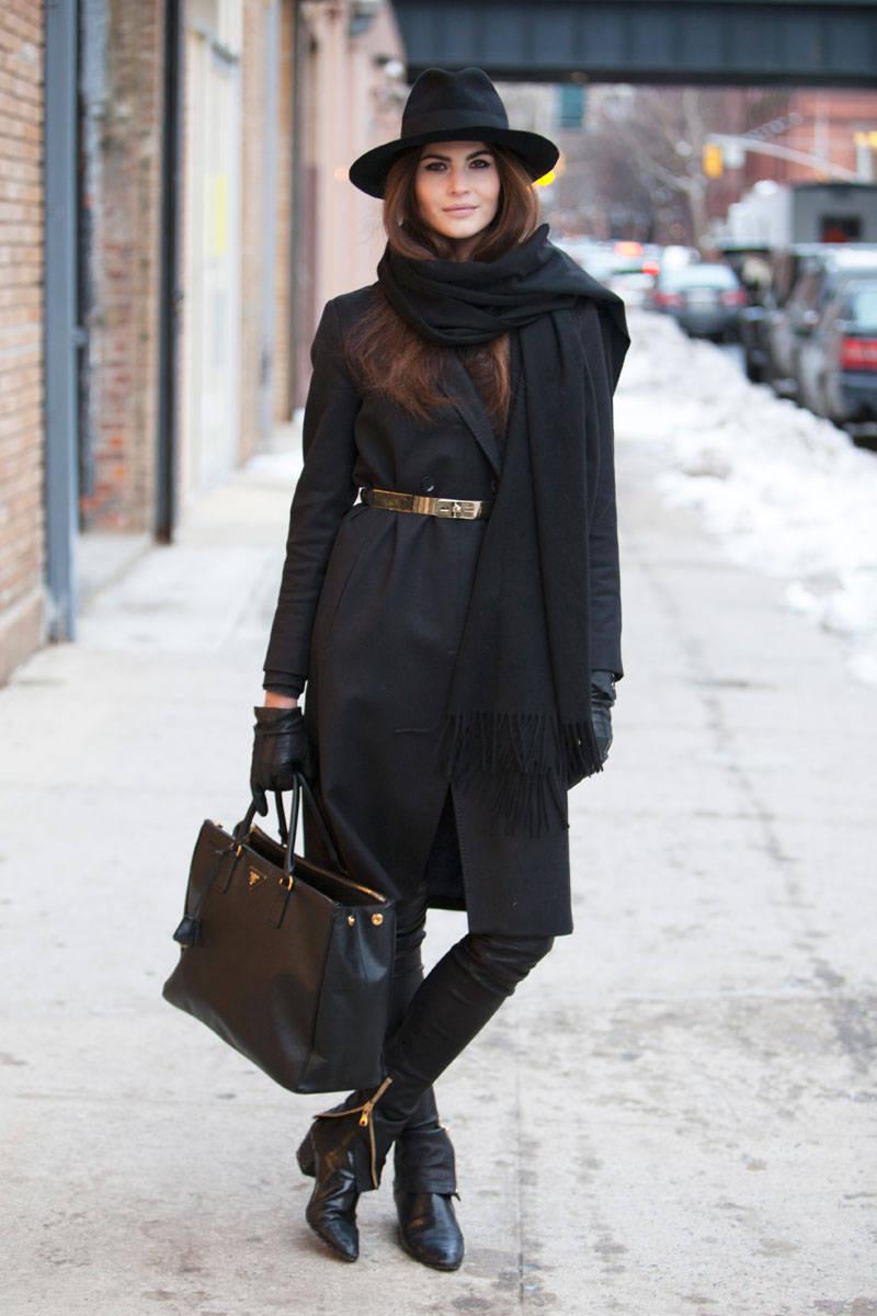 street style fashion week ny fall winter 2014