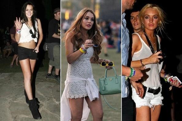 Lindsay Lohan, Coachella