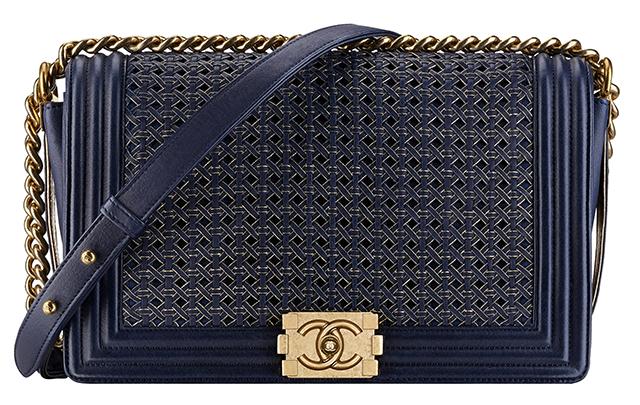 Chanel-Boy-Braided-Flap-Bag-Navy