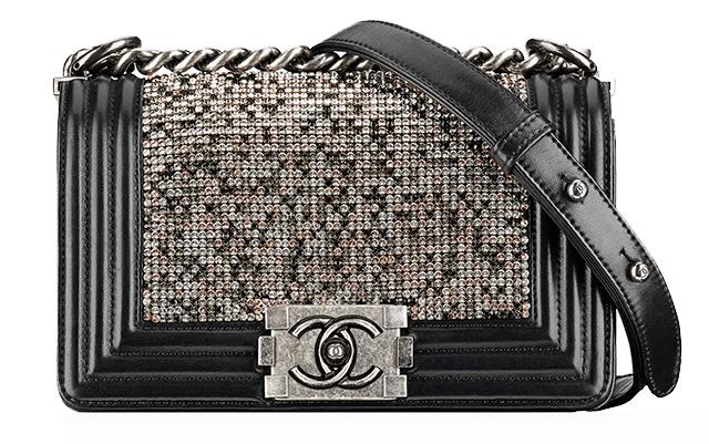 Chanel-Strass-Boy-Bag-Black