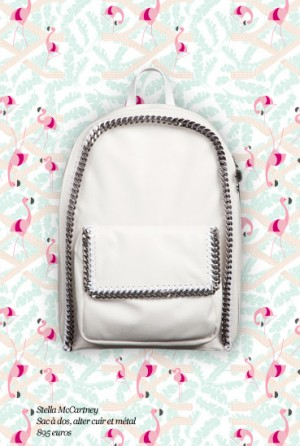 Stella-Mccartney-White-Chain-Backpack-Le-Bon-Marche-Webster-Collaboration-300x446