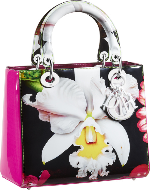 The Lady Dior bag revisited by Marc Quinn