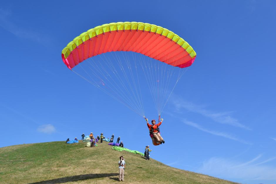 Flying Around In The Sky!; Asagiri Highland Paragliding School