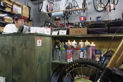 Bicycle shop gennoji