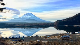 "【Asset No.1-8 Of Mt.Fuji】Eastern Switzerland, ""Lake Shojin"""