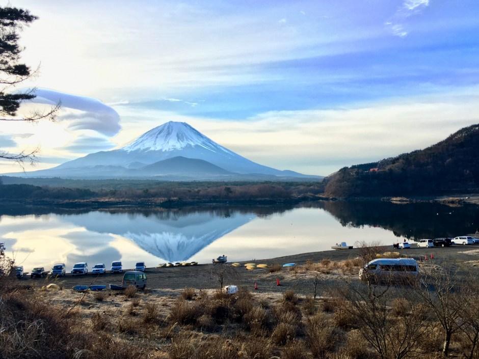 精進湖/Lake Shojin